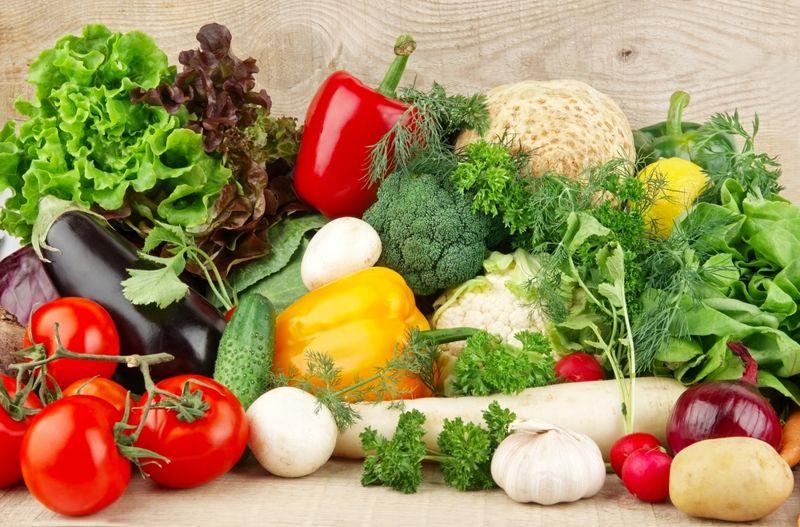 vegetables potassium