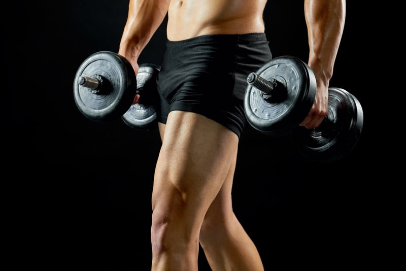 muscle mass low testosterone