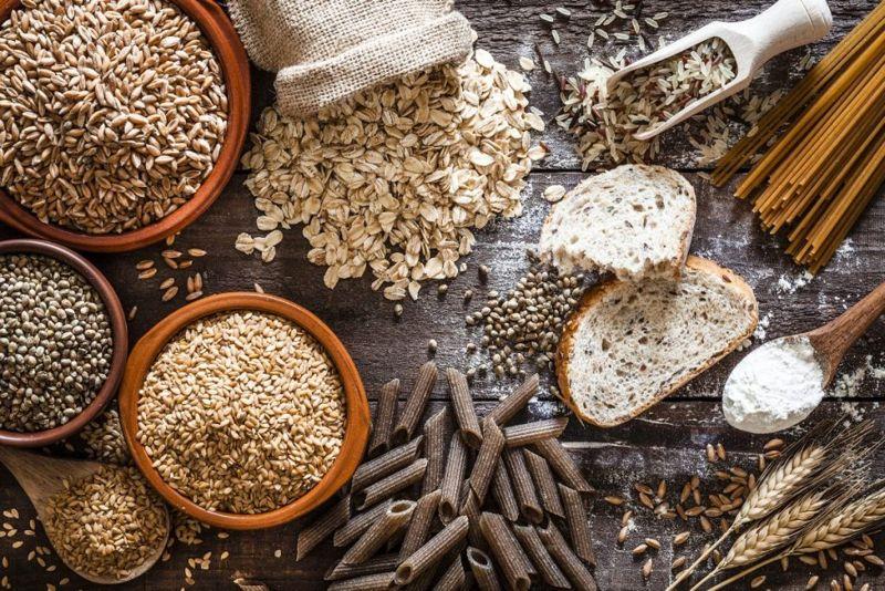 grain high acid foods