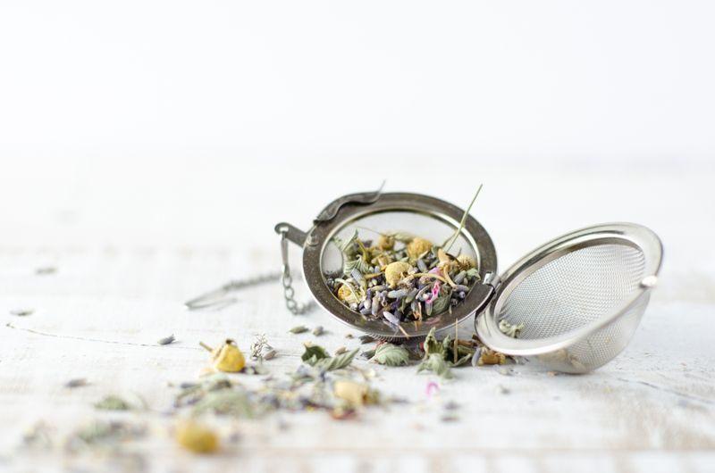 hair chamomile tea