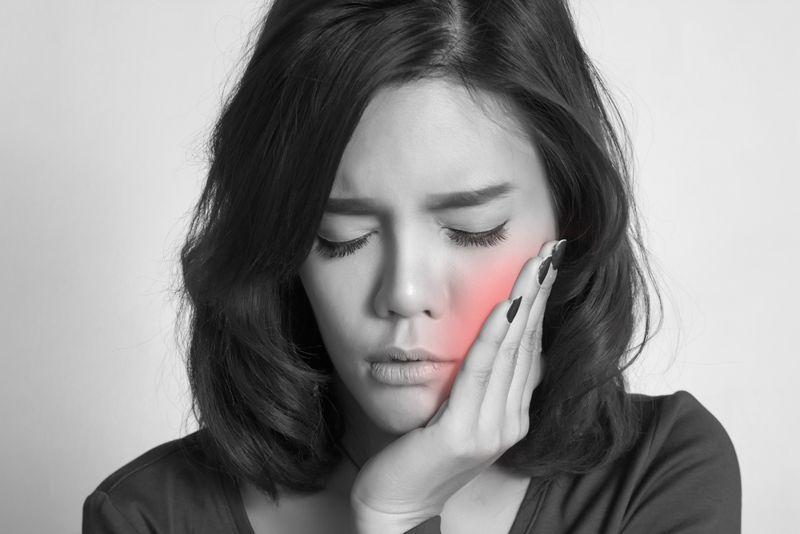 facial pain nasal polyps