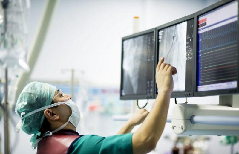 cardiologist electrocardiogram test