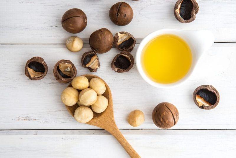 macadamia nuts skin health