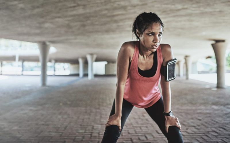 Rapid Breathing Exercise