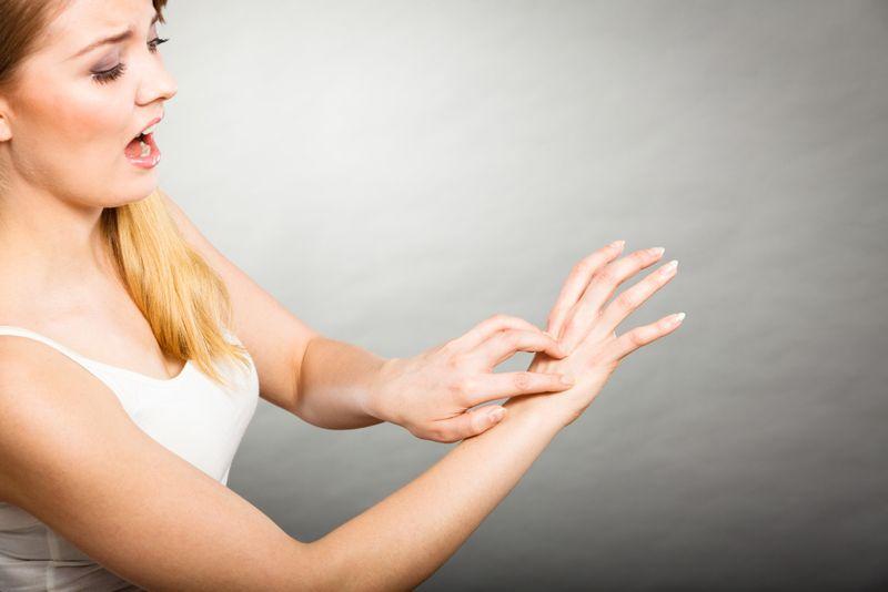 itching Ekbom syndrome