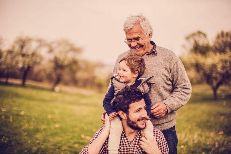 generational family photo
