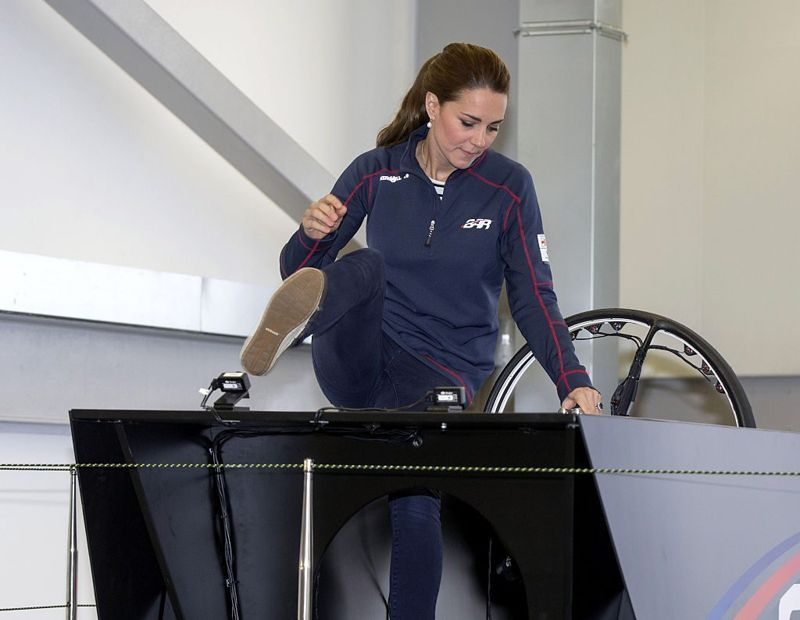 sailing Kate Middleton