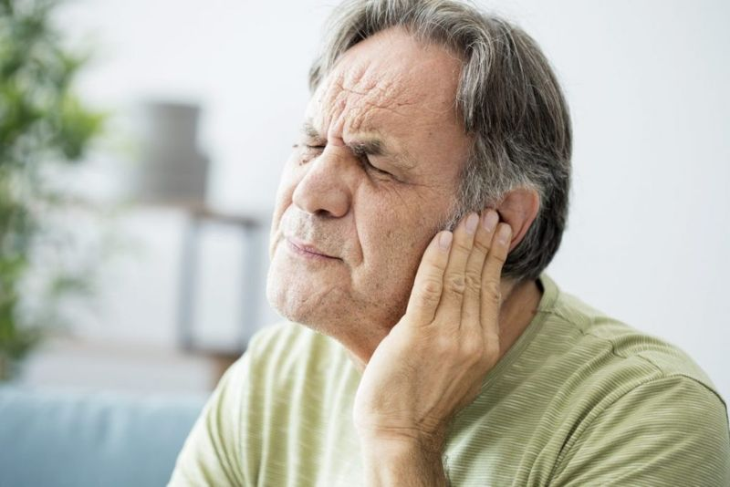 hearing foreign object in the ear