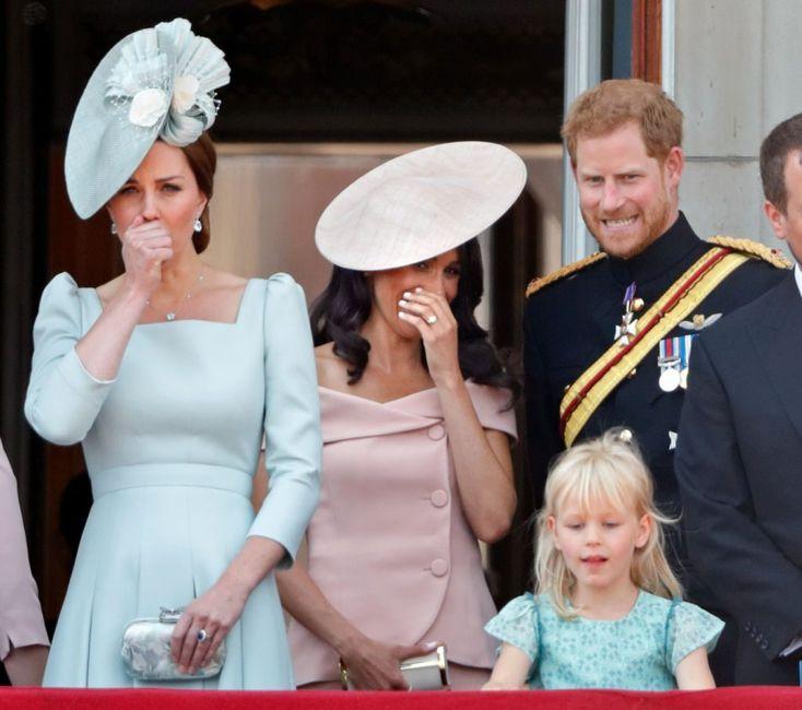Kate Middleton reacts