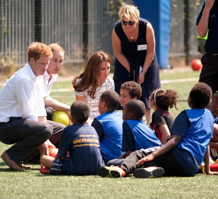 Kate Middleton and the family