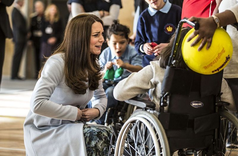 Kate Middleton at Charity events