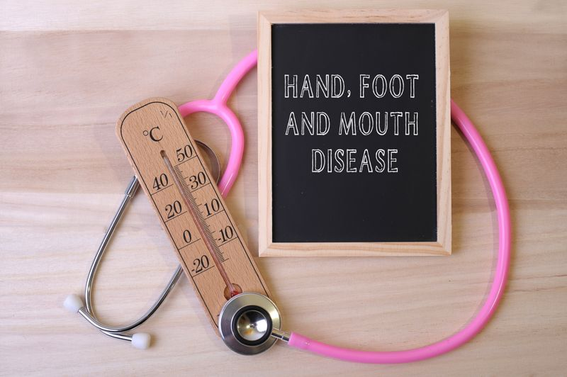 Symptoms of Hand-Foot-and-Mouth Disease