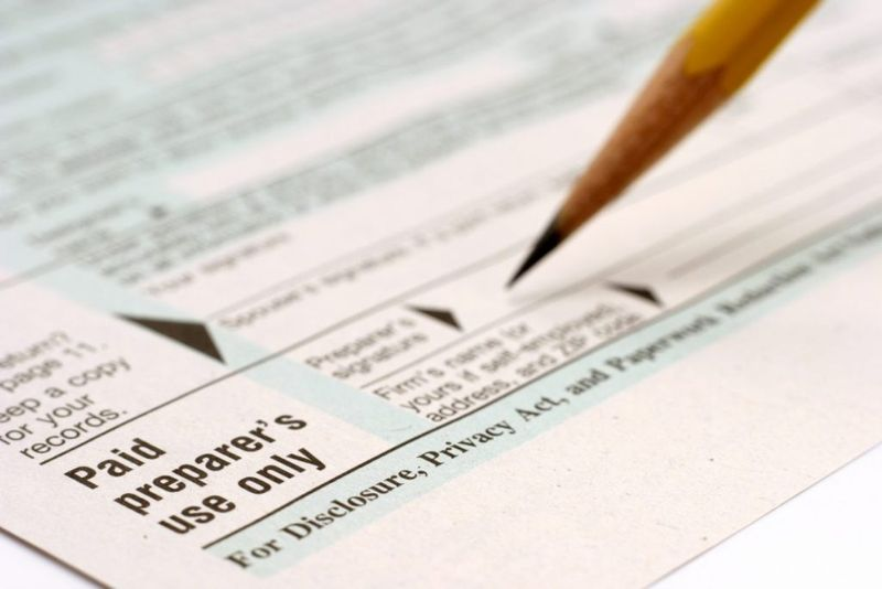 using a tax service
