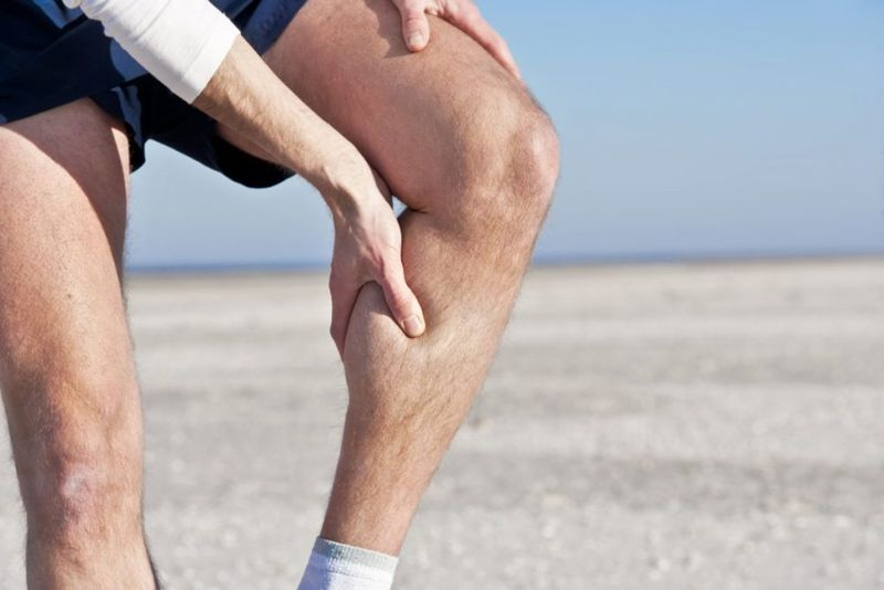 leg calf cramp