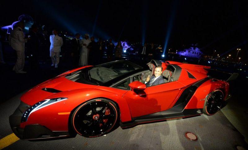 Lamborghini Veneno automobiles