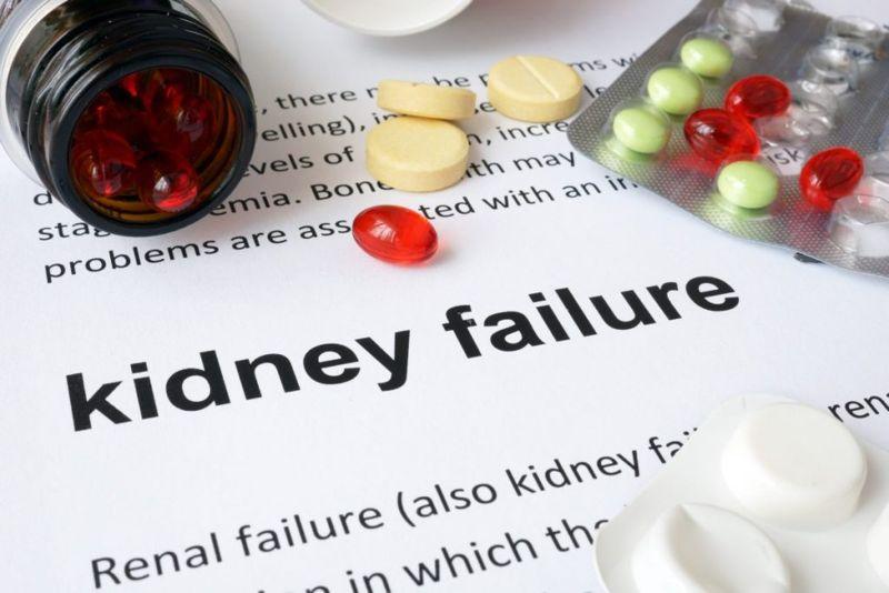 Uremic bleeding coagulopathy kidney failure