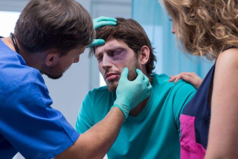 trauma vitreous hemorrhage
