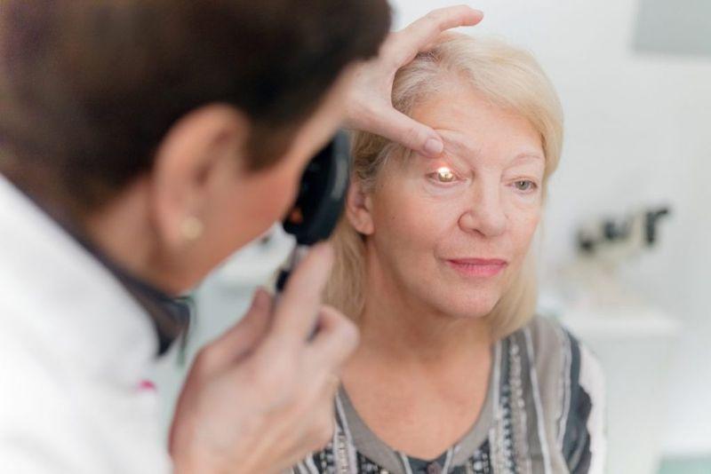 eye blindness vision optician