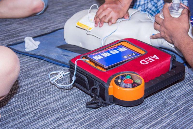 AED cardiac arrest