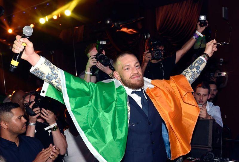 Conor McGregor world's highest paid athletes