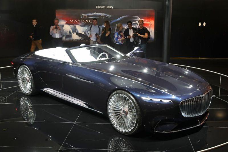 Mercedes-Benz Maybach Exelero automobiles