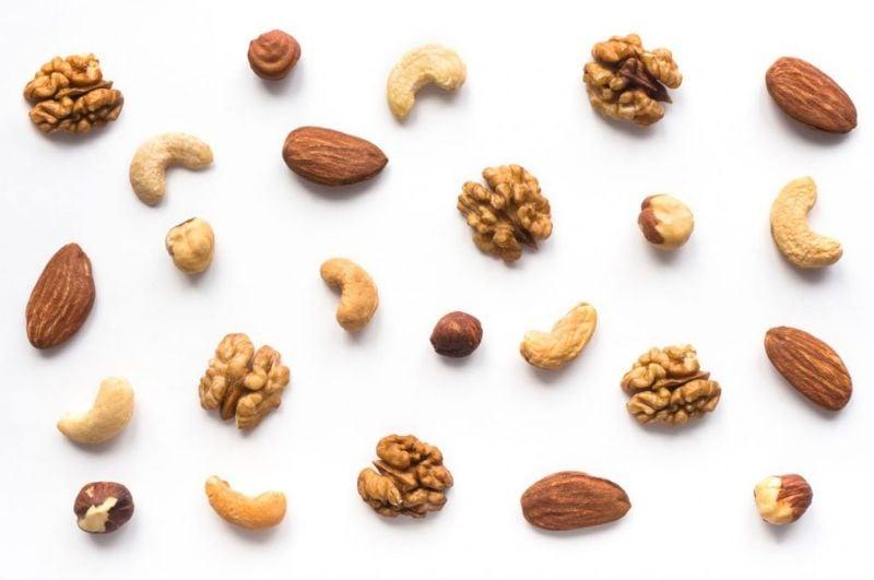 high acid foods nuts