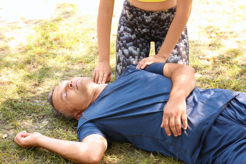 first aid hyperthermia