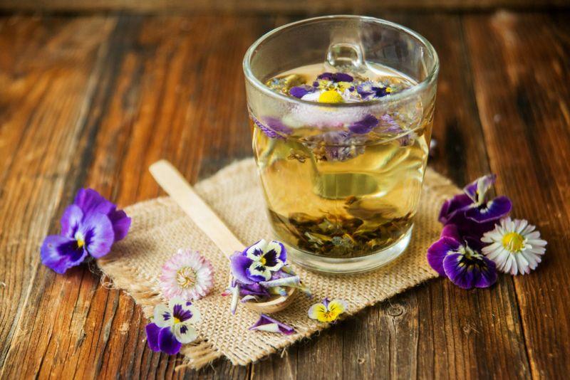 sore throat health benefits of pansies
