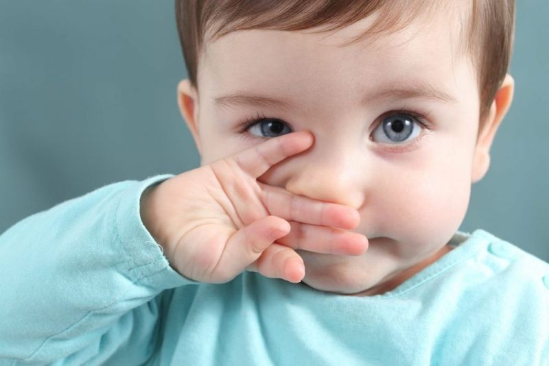 children foreign object in the nose