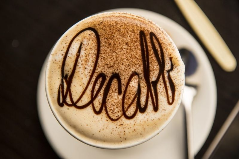 decaff caffeine withdrawal