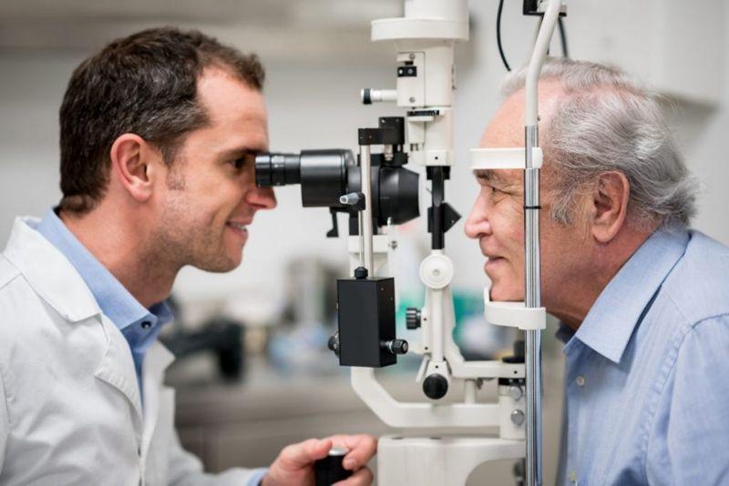 Thyroid eye disease causes