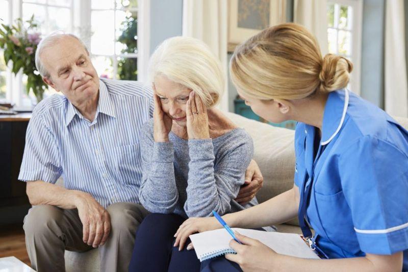 Alzheimer senility