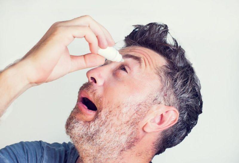 risks Dry eye syndrome