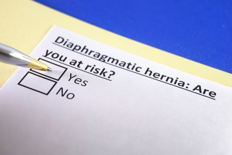 Types of Diaphragmatic Hernias