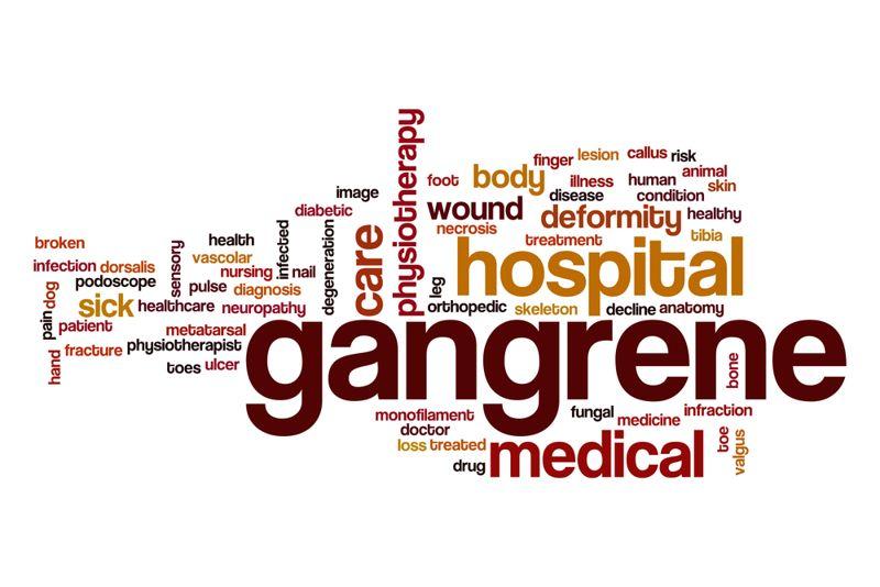 types of gangrene