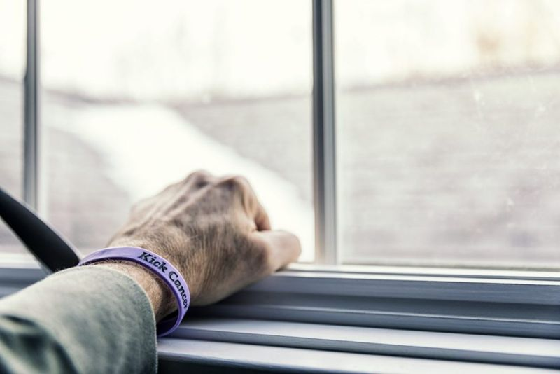 patient wristband kick cancer