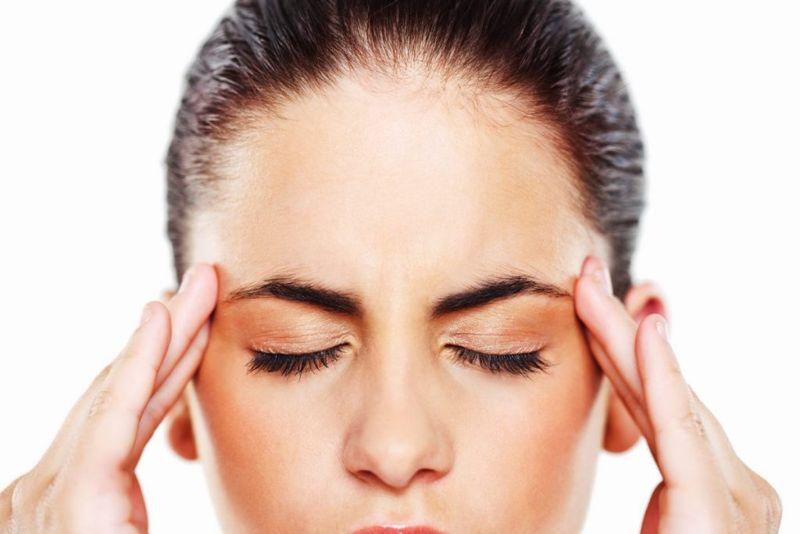Headache in the Temples