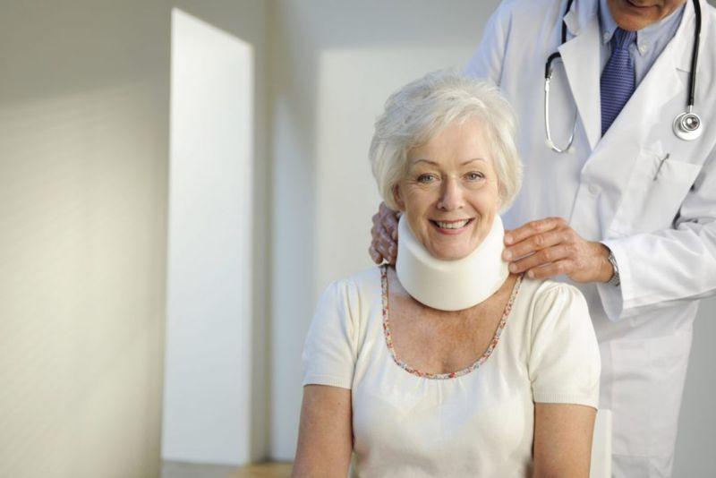Cervical spondylosis collar