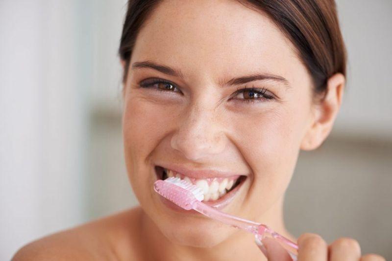 Receding gums habits