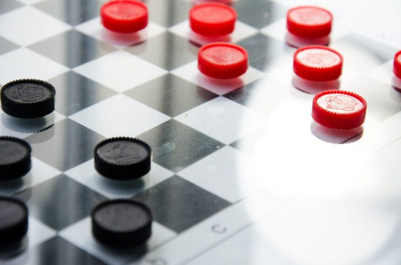 checkers board games for kids