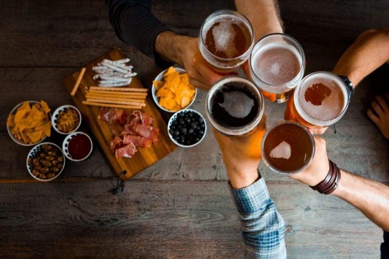 alcohol urethra pain