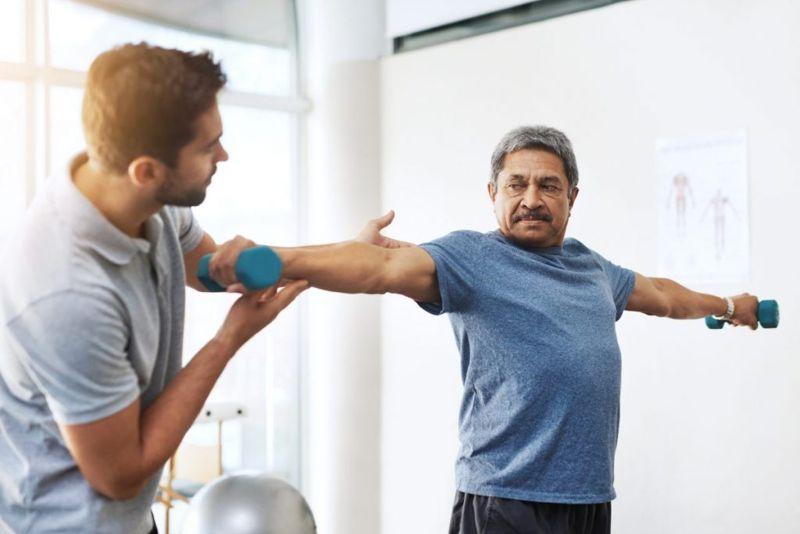 rehab shoulder subluxation