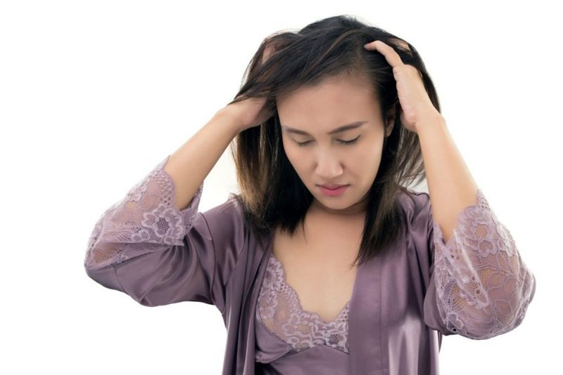 allergic reactions scalp infections