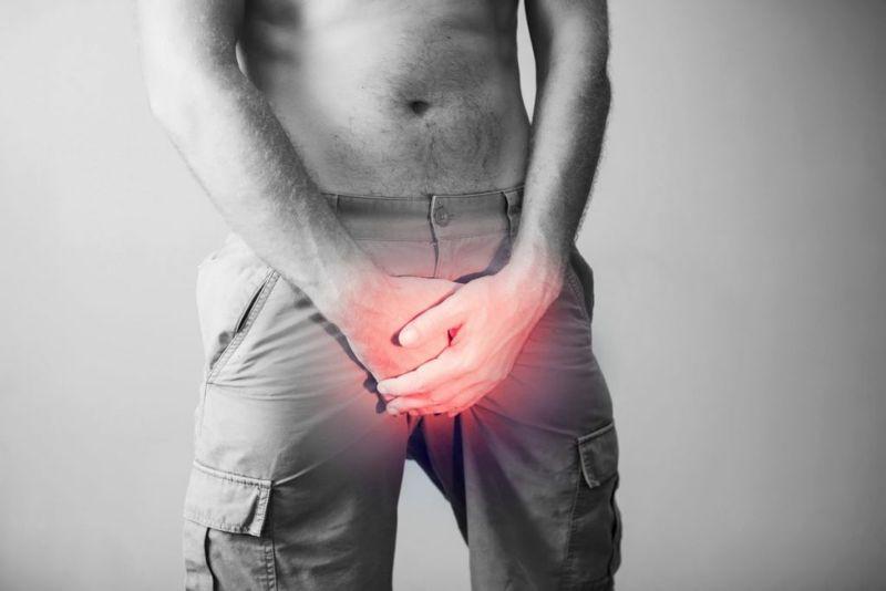 sperm count testicle pain