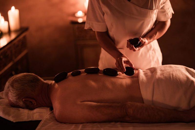 Cervical spondylosis massage