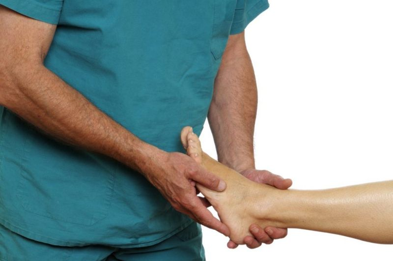 nerve damage heel pain