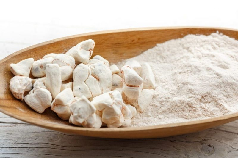 powder of baobab fruit