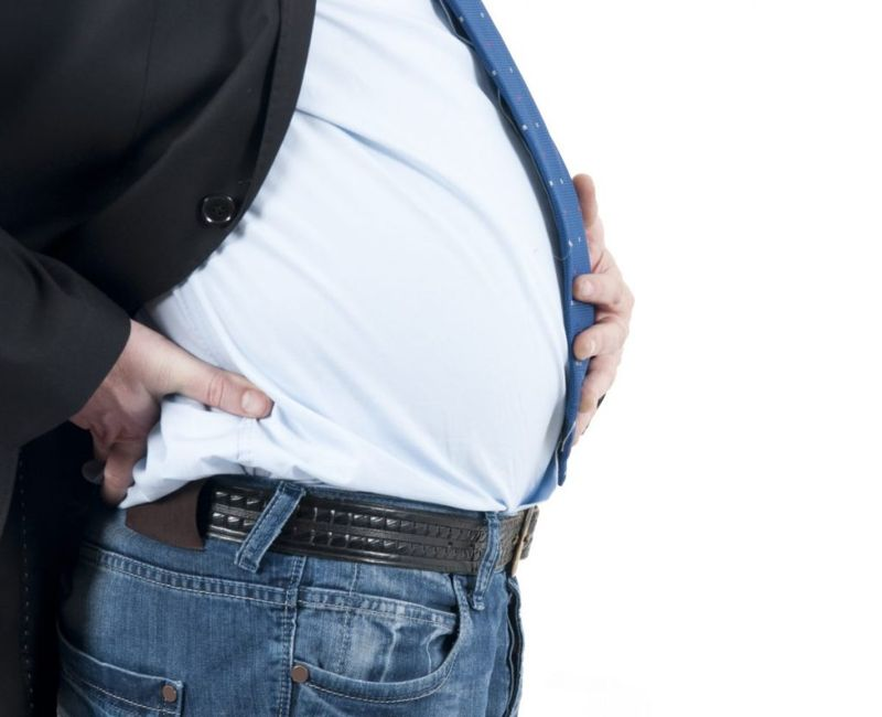 overweight belly fat