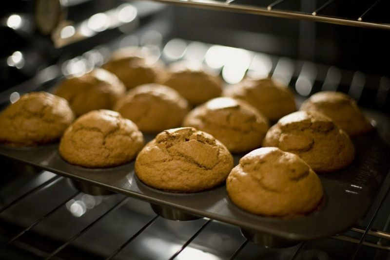 Cricket flour baking