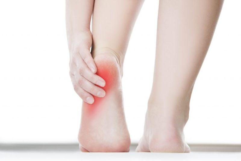 bursitis heel pain